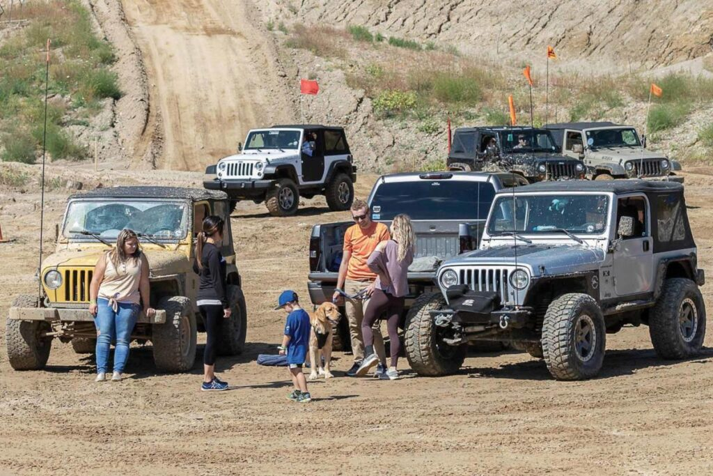 detroit 4fest off-roading event